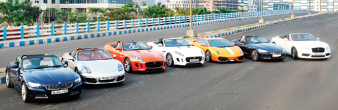 Supercars Roar When City Snores Kolkata First
