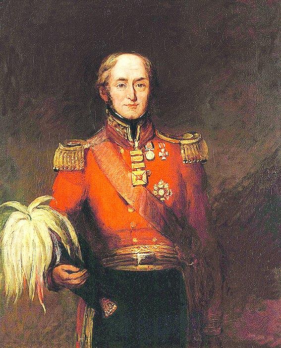 Sir Edward Barnes by William Salter