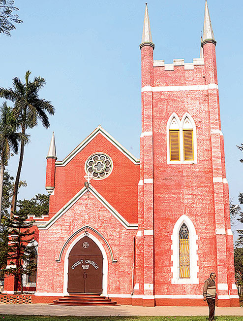 Christ Church in Liluah. Picture by Gopal Senapati