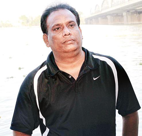 Surajit Ghosh. Picture  by Gopal Senapati