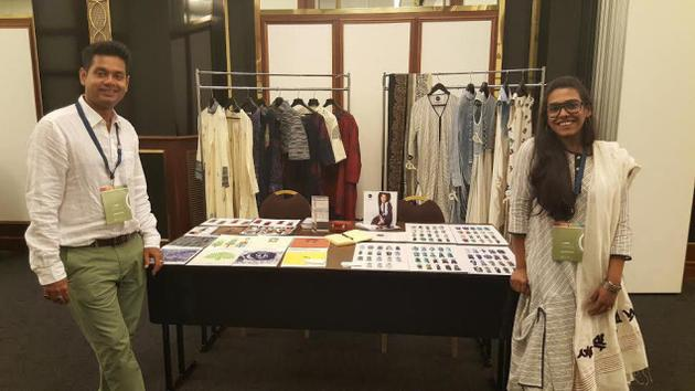 Nayak's collection inspired by Bengali typography.